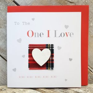 One I Love Valentines Card