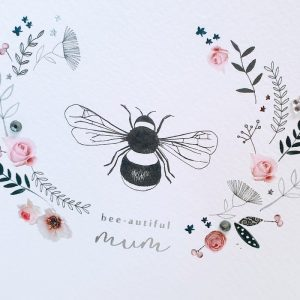 BEE-AUTIFUL MUM MOTHER'S DAY CARD DETAIL
