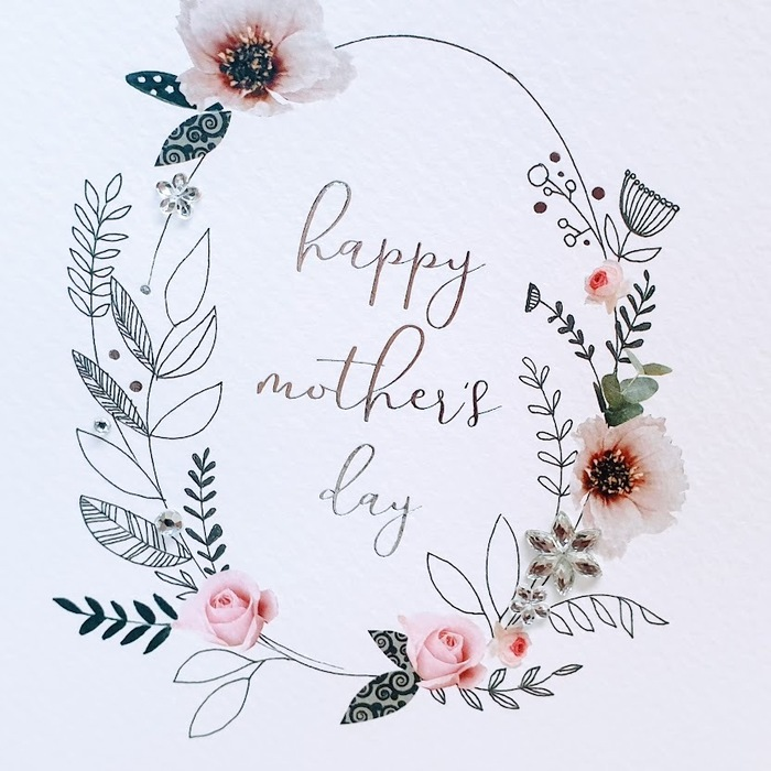 HAPPY MOTHER'S DAY CARD DETAIL