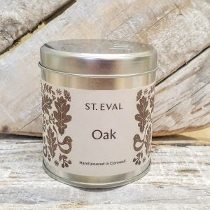 OAK SCENTED CANDLE TIN