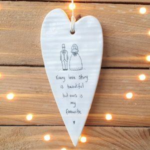 PORCELAIN HEART EVERY LOVE STORY
