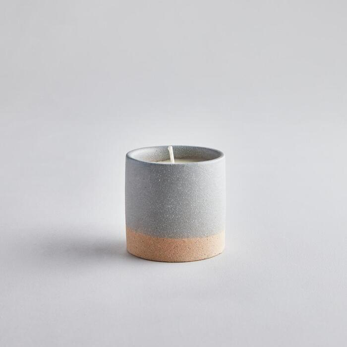 SAND DIPPED CANDLE POT TRANQUILITY