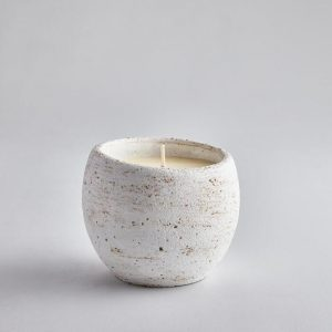 SECRET GARDEN CANDLE POT BAY AND ROSEMARY