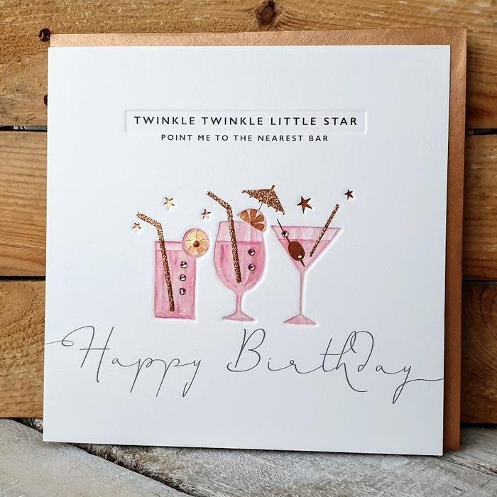 TWINKLE TWINKLE BIRTHDAY CARD