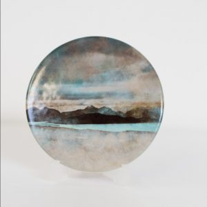 Skye from Bealach Na Ba Applecross Ceramic Coaster