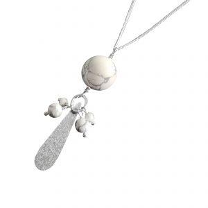 Cluster teardrop pendant